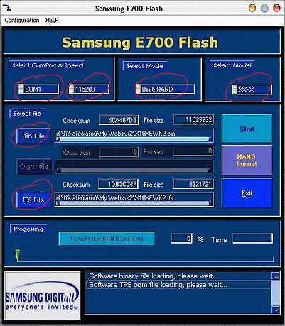 Программа прошивки сотовых телефонов